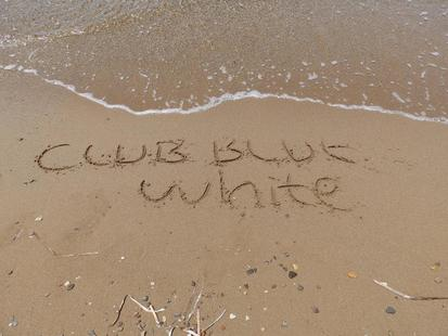Club Blue White